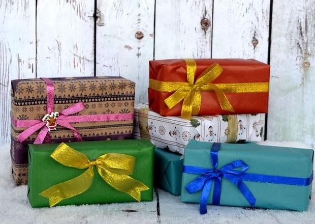 Красивая стильная упаковка и необычная подача делают выигрышным даже самый простой подарок