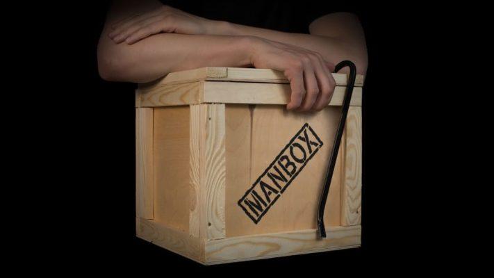 Подарочная коробка MenBox