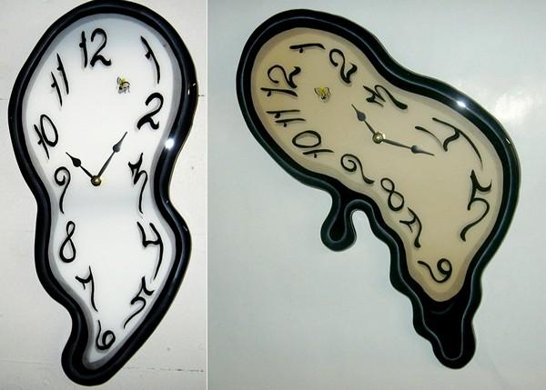 Часы, спроектированные по картине Сальвадора Дали
