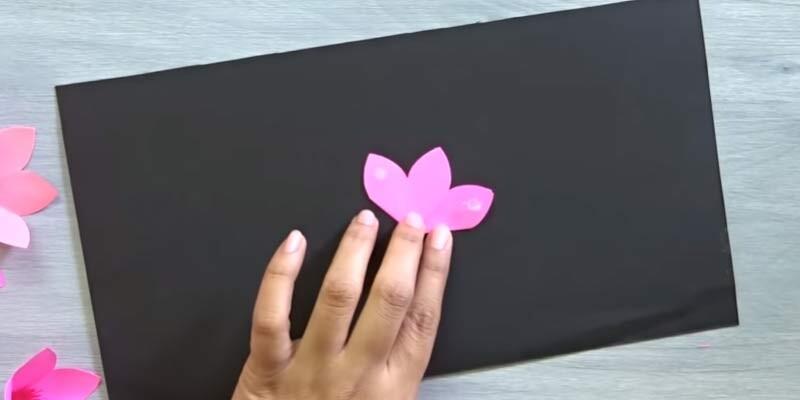 Изготовление объемной валентинки. Этап 6
