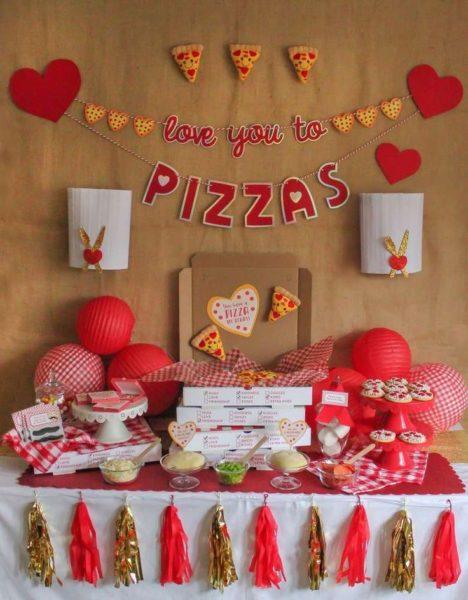 Оформление праздника в День святого Валентина