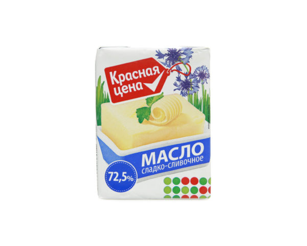 """Масло сладко-сливочное """"Красная цена"""""""