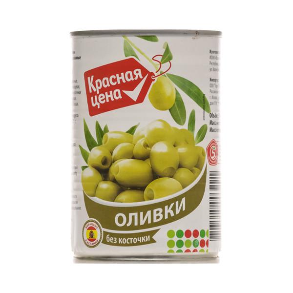 """Оливки """"Красная цена"""""""