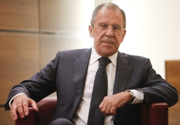Министр иностранных дел РФ С. Лавров