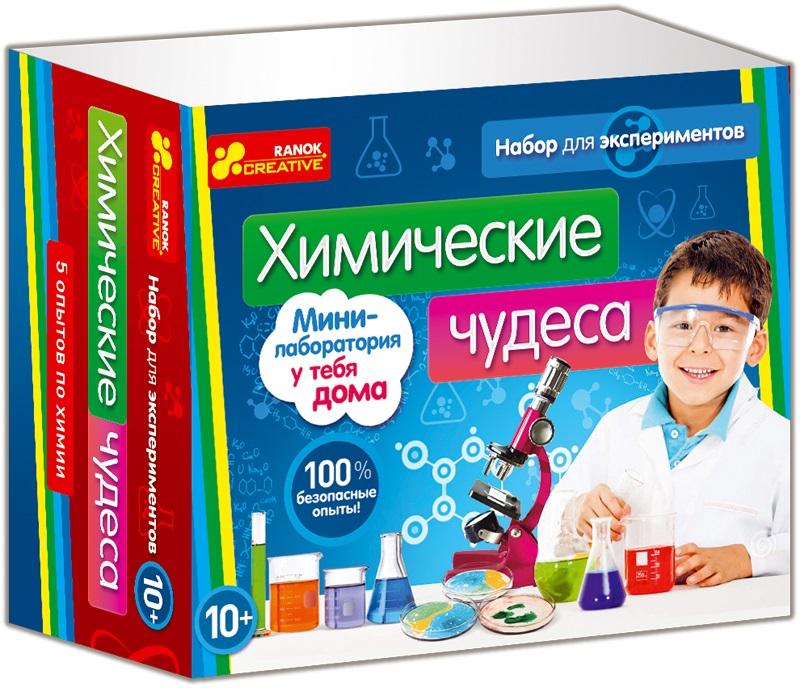 Набор для опытов поможет в игровой форме познакомиться с основами химии