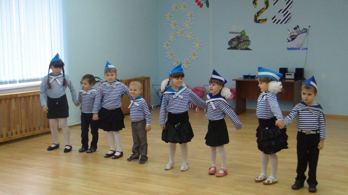 Во многих детских садах традиционно проходят утренники, посвященные празднику 23 февраля