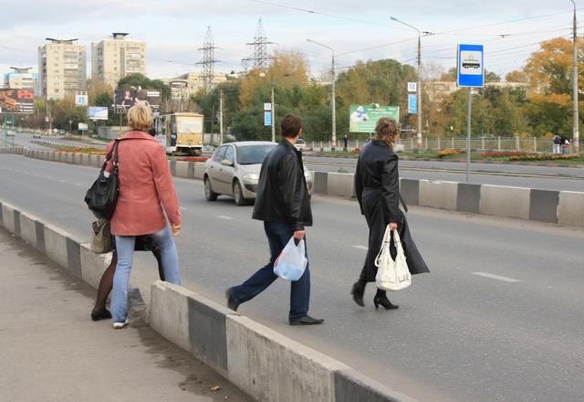 Штраф за переход дороги в неустановленном месте