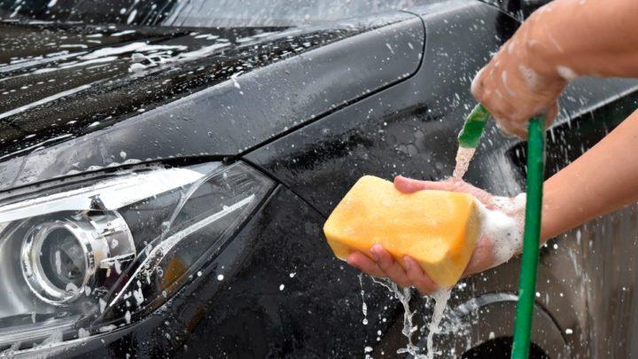 Штраф за мытье машины во дворе