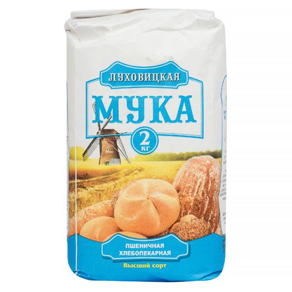 Мука Луховицкая пшеничная