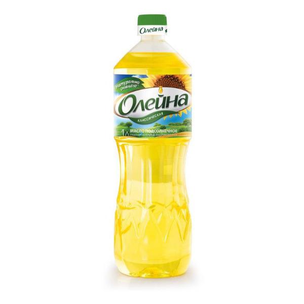 """Подсолнечное масло """"Олейна"""""""