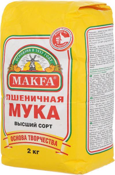 Мука пшеничная Макфа