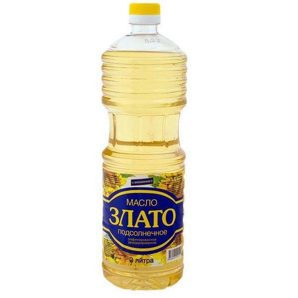 """Подсолнечное масло """"Злато"""""""