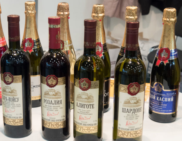 Коллекция вин Дербент