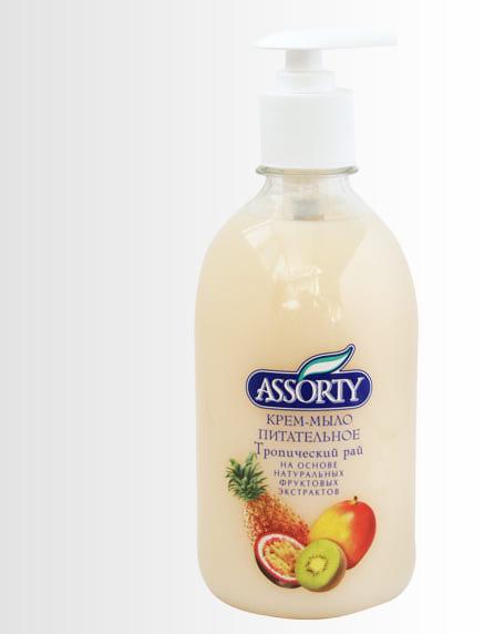 Крем-мыло питательное ASSORTY Тропический рай