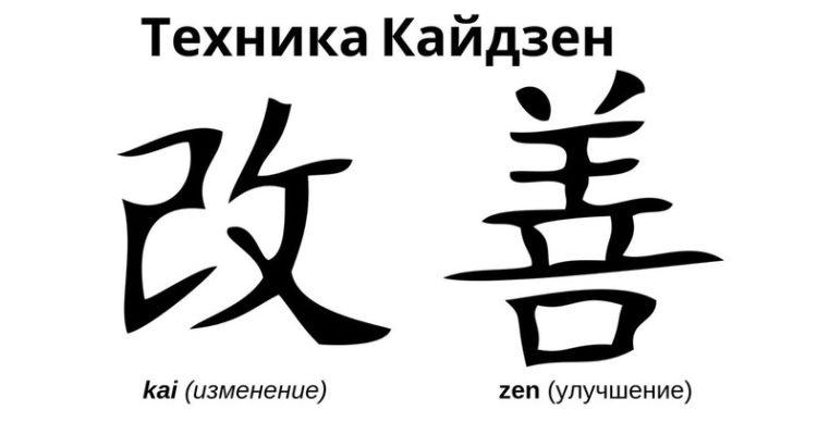 """Расшифровка слова """"кайдзен"""""""