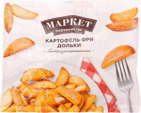 """Картофель фри дольки """"Перекресток"""""""