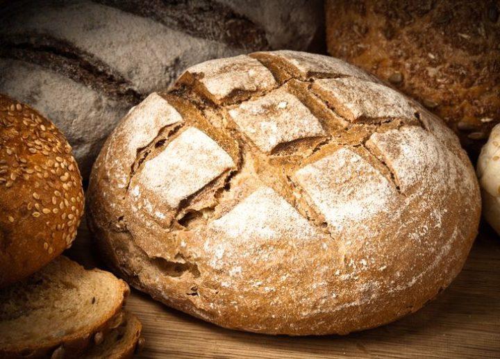 Roquefort and Almond Sourdough Bread