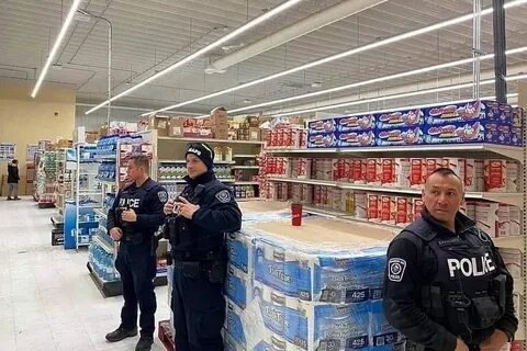 Охрана туалетной бумаги