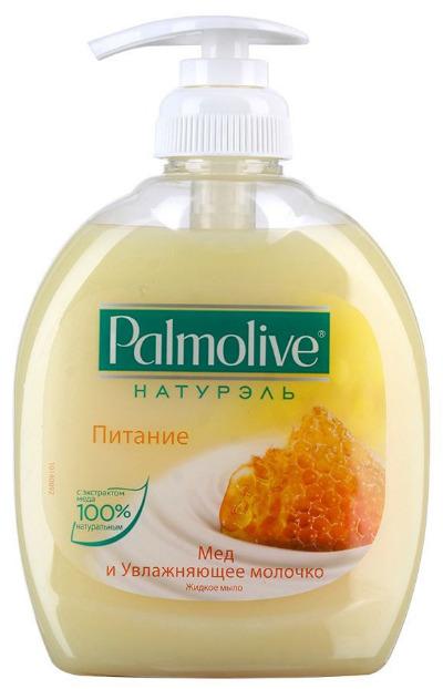 """Жидкое мыло Palmolive Натурэль """"Питание Мёд и увлажняющее молочко"""""""