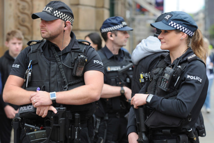 Полицейские в Великобритании