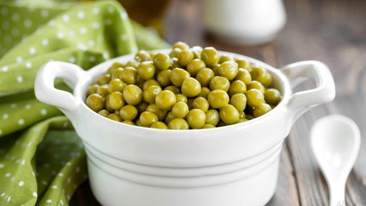 Зеленый горошек консервированный