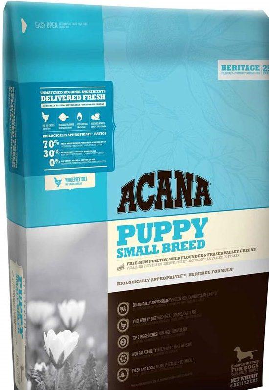 Корм для щенков Acana