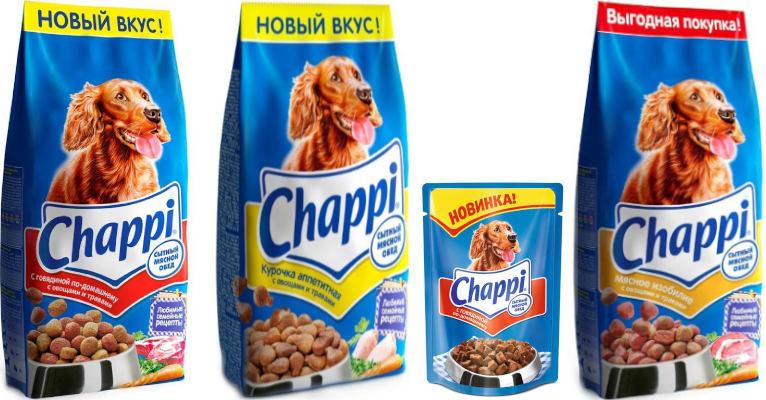 Корм Чаппи