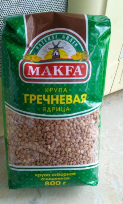 Гречневая крупа Makfa