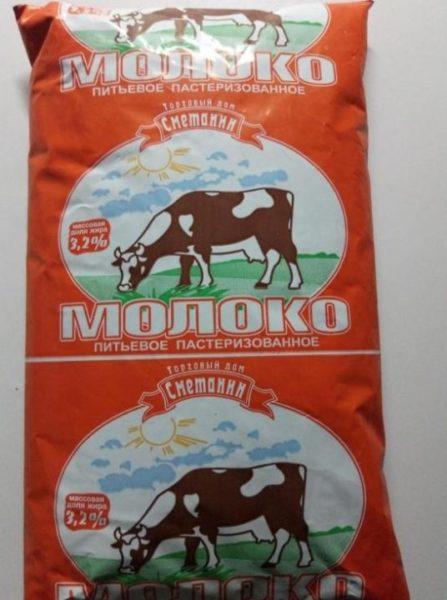 "Молоко ""Сметанин"" 3,2%"