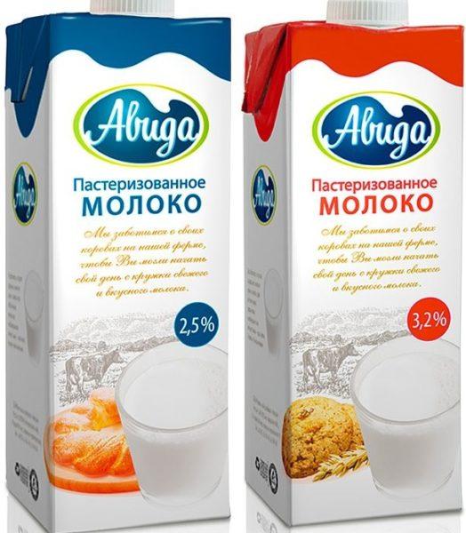"""Молоко """"Авида"""""""