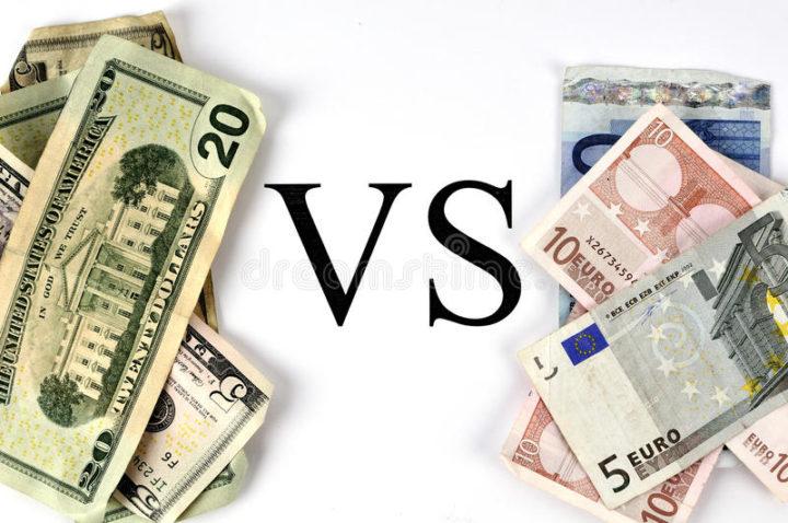Доллар против евро