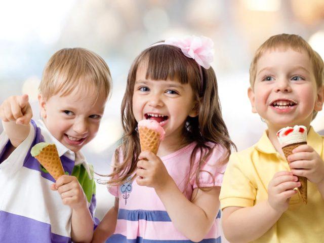 Мороженое без пальмового масла