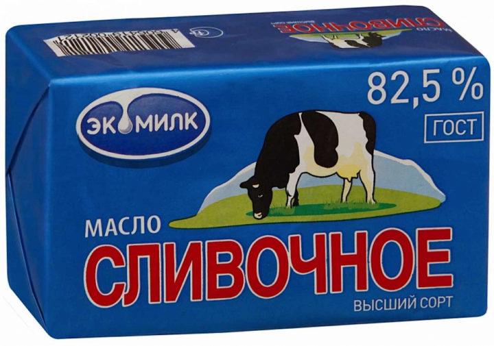 Сливочное масло Экомилк