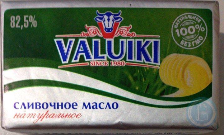 Сливочное масло Valuiki