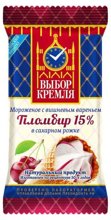мороженое Выбор Кремля