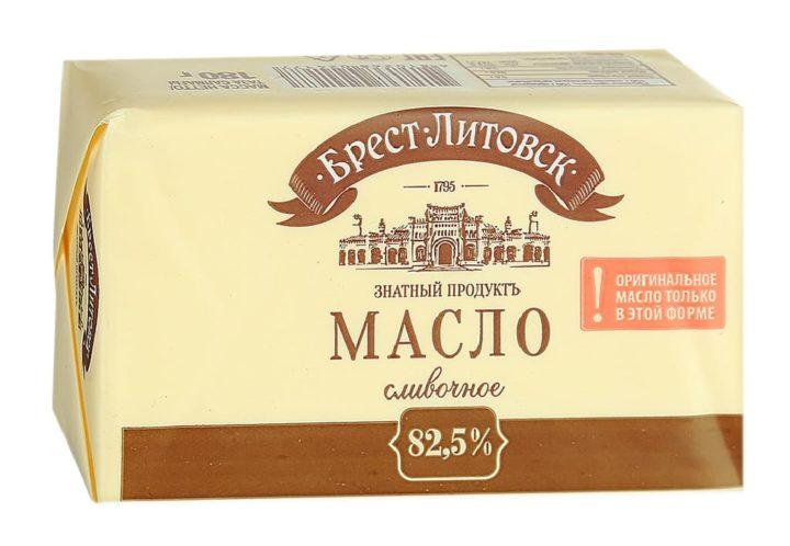 Сливочное масло Брест-Литовское