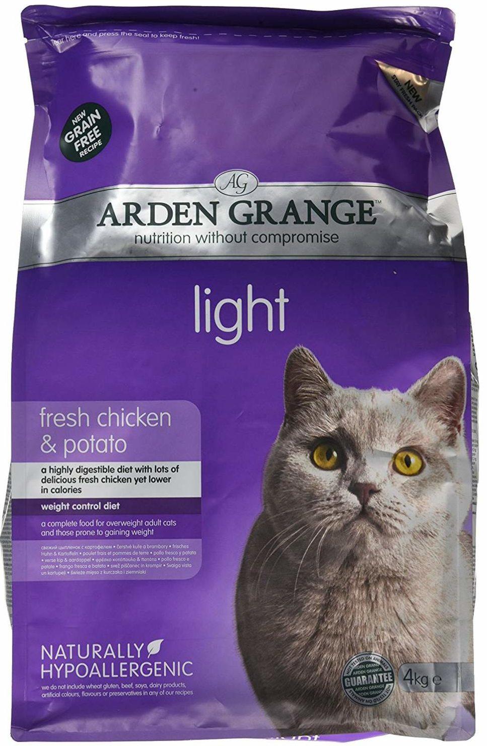 Корм Arden Grange Light