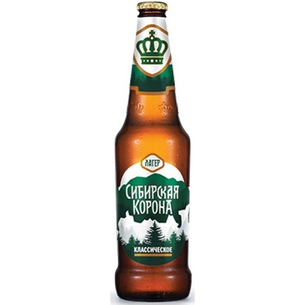 Пиво Сибирская корона классическое