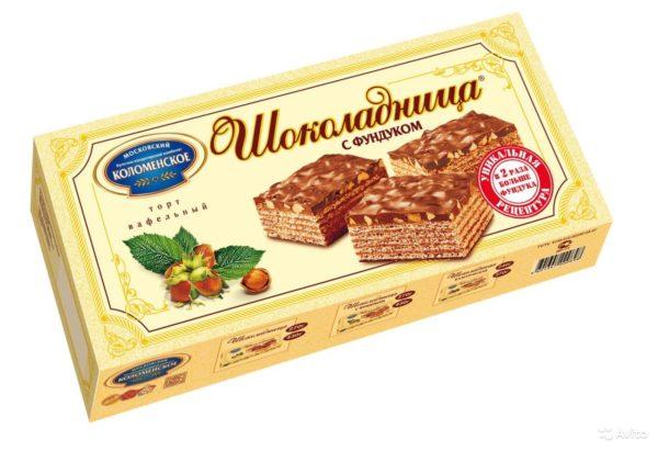 Вафельный торт Шоколадница (Коломенское)