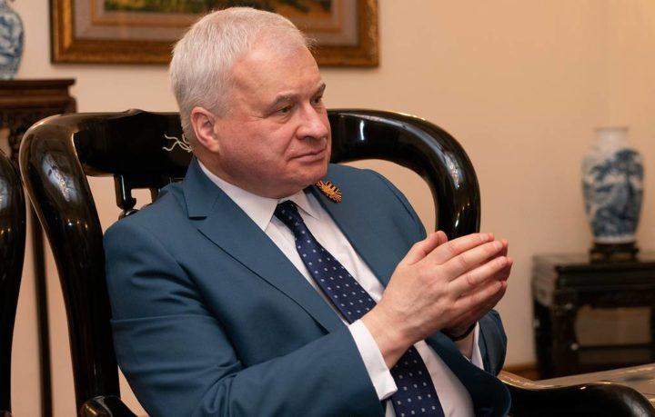 Посол Российской Федерации в КНР Андрей Денисов