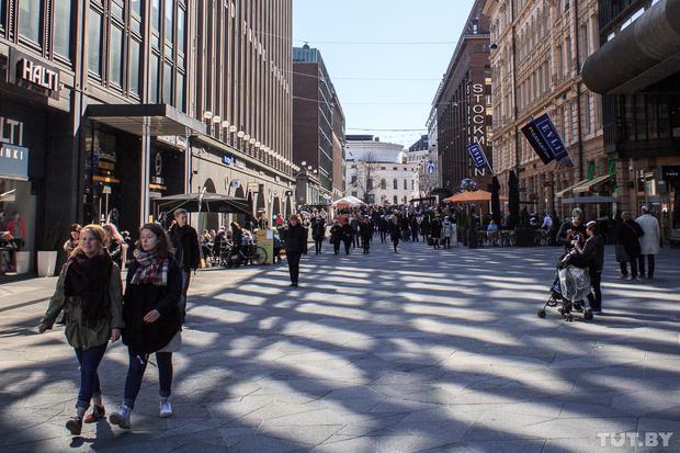 Улица в Финляндии