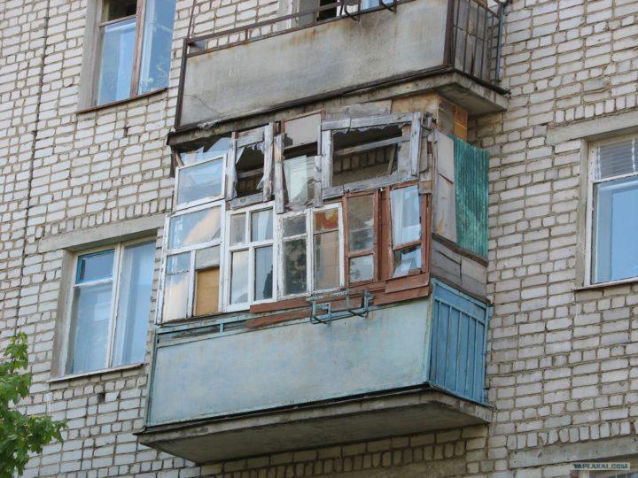 Прикол застекленный балкон