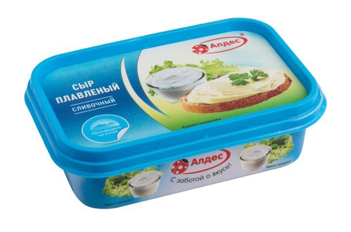 Алдес сыр плавленый сливочный