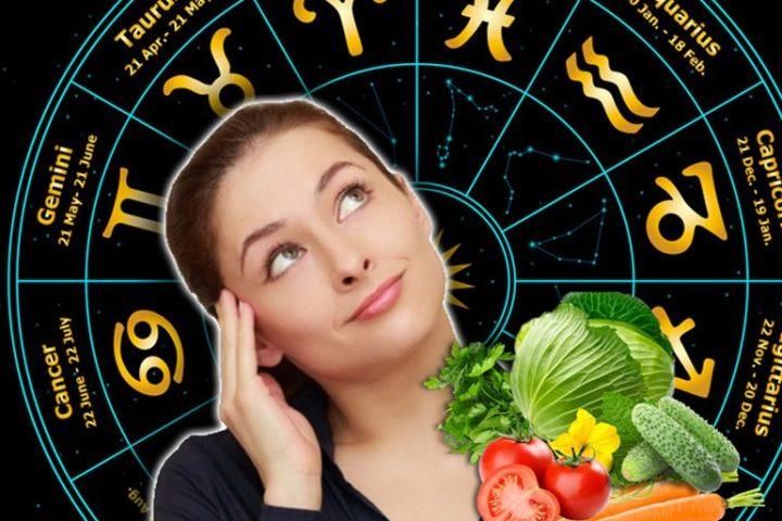 Знаки зодиака, еда и девушка