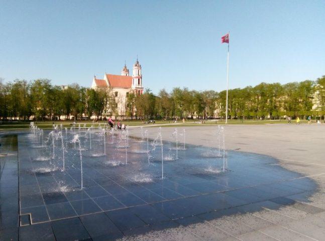 Лукишская площадь в Вильнюсе