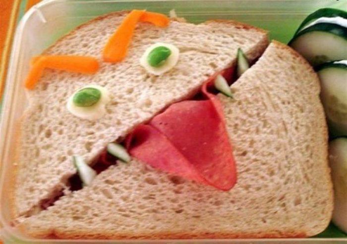Страшный бутерброд