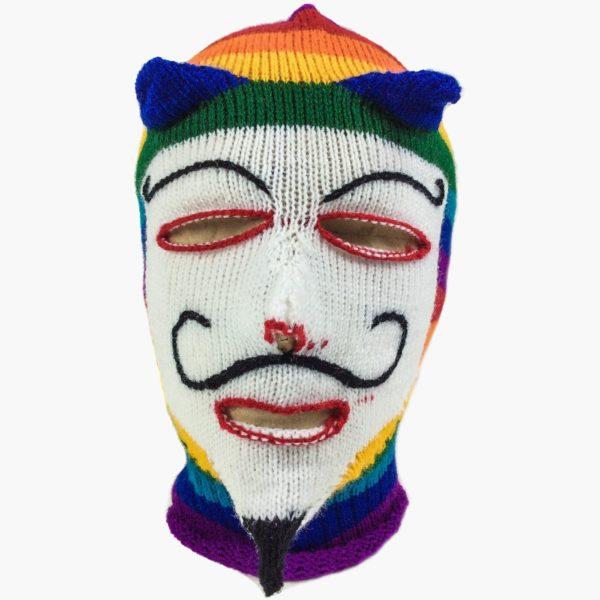 Вязаная маска анонимуса