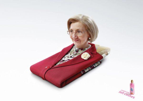 Реклама кондиционера для одежды Vernel
