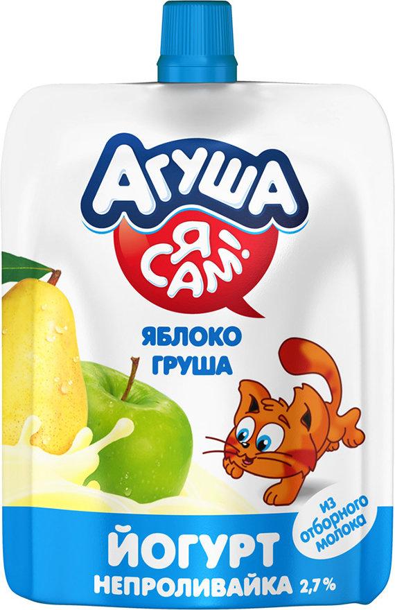 """""""Агуша"""" с яблоком и грушей"""