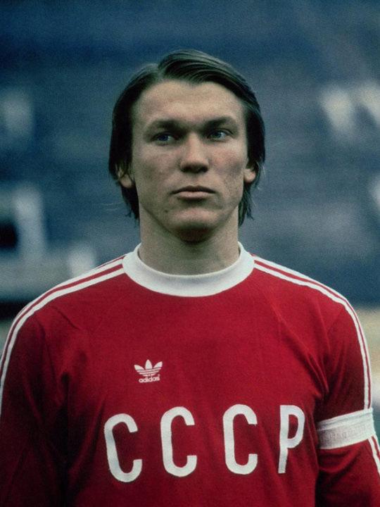 Футболист Олег Блохин
